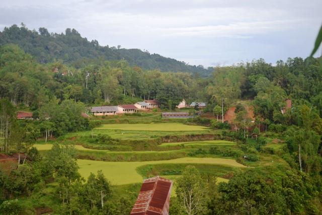 Salah satu sudut view Kampung Lolai. (foto: mfaridwm)
