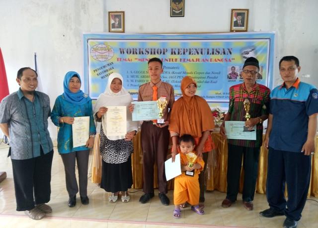 Para pemenang sayembara menulis cerita rakyat (foto: mfaridwm)
