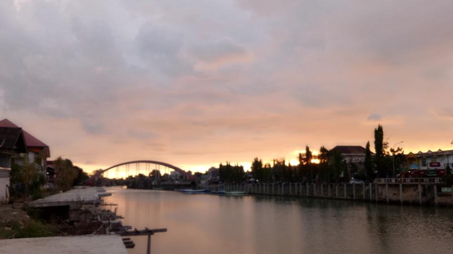 Sungai Pangkajene. (foto: mfaridwm)