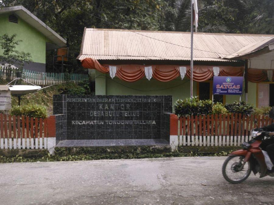 Kantor Desa Bulu Tellue. (foto: mfaridwm)