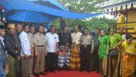 Foto bersama stakeholders usai Peresmian Baruga Sanggar Seni di Borong Untia, Biringere. (foto: ikah)