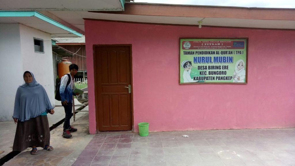 Program Penambahan Luas TPA Mesjid AtTaqwa Biringere. (foto: mfaridwm)