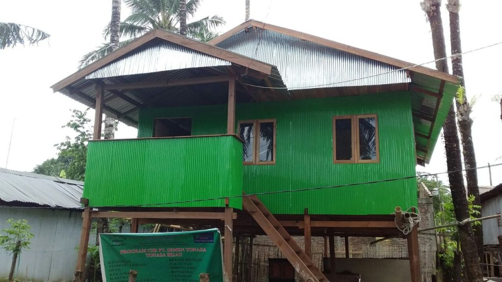 Hasil Program Bedah Rumah di PalattaE, Biringere. (foto: hj.nurmiaty)