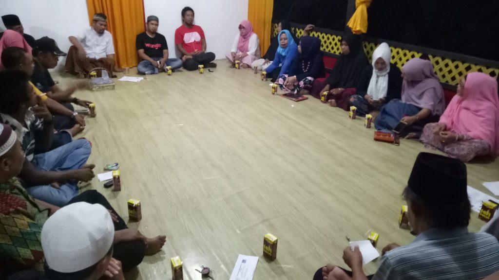 Rapat Pengurus Forum Desa terkait Penyusunan RKAPM 2018 (foto: ist/fitrah)