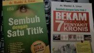 """Dua Buku Seri """"Sembuh dengan Satu Titik"""" (foto: mfaridwm)"""