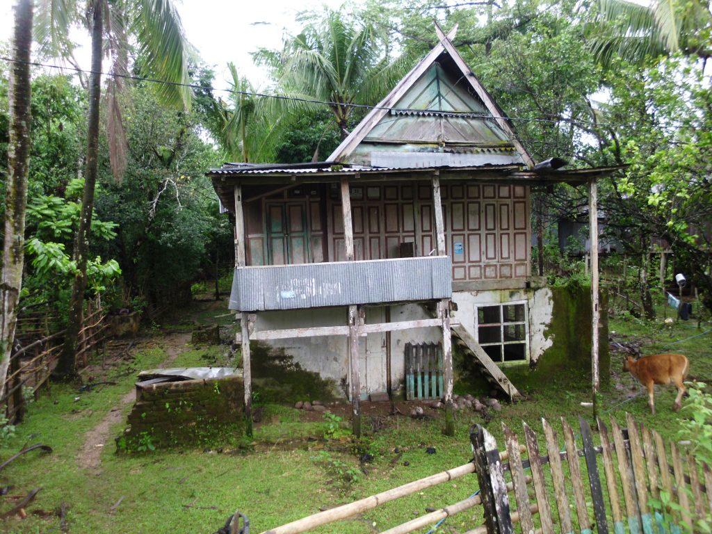 Salah satu bentuk Rumah Adat Makassar (foto: ettaadil)