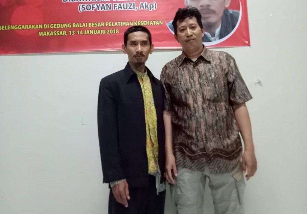 Penulis bersama Suhu Fou. (foto: ist/palontaraq)