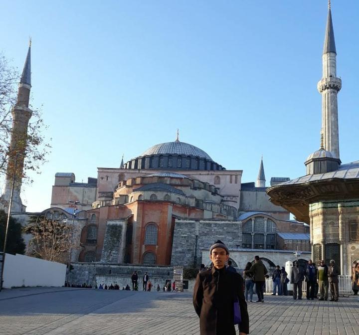 UAS di Istanbul, Turki (sumber foto: IG UAS)