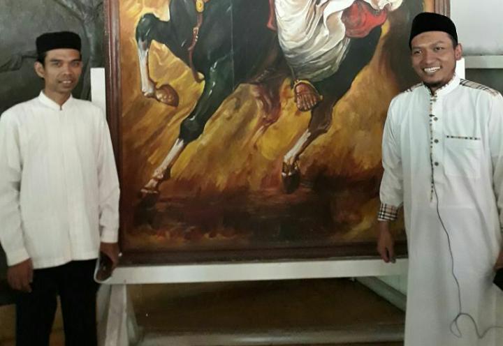 UAS bersama Ustadz Salim A Fillah(sumber foto: IG UAS)