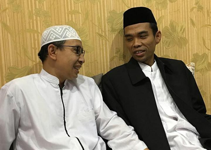 UAS bersama Buya Yahya (sumber foto: IG UAS)