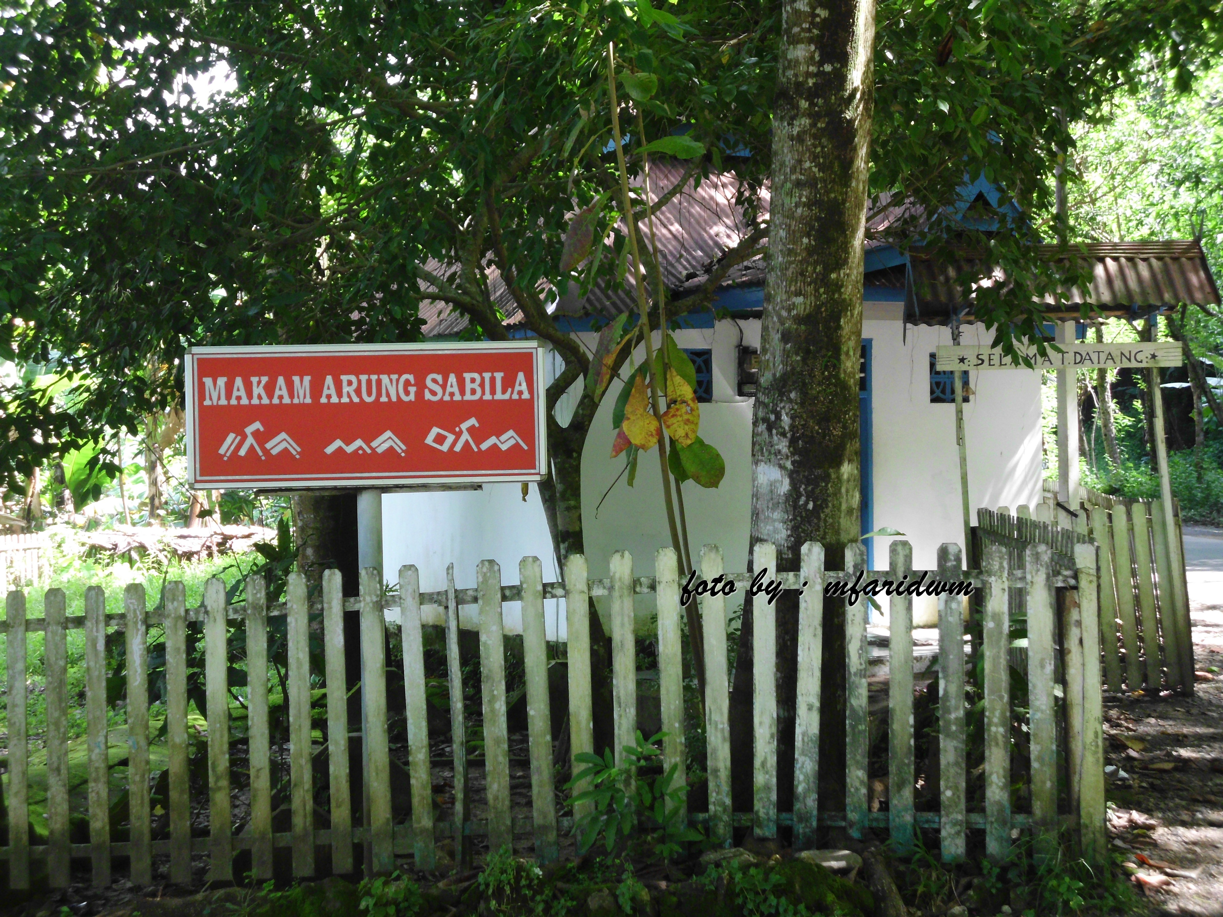 Makam Arung Sabila di Minasatene. (foto: mfaridwm/palontaraq)