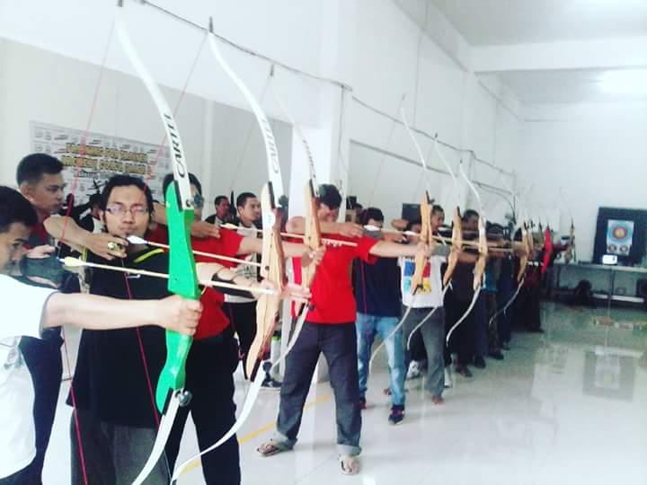 Latihan Memanah-INASP (foto: ist/palontaraq)