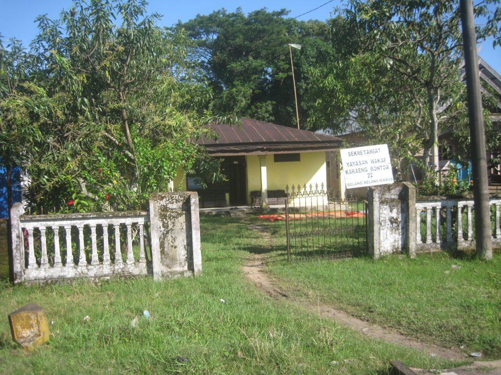 Salah satu rumah karaeng Bontoa. (foto: mfardiwm/palontaraq)