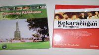 Buku Sejarah dan Kebudayaan Pangkep (terbitan 2007) dan Sejarah Kekaraengan di Pangkep (terbitan Tahun 2008). (foto: ist/palontaraq)