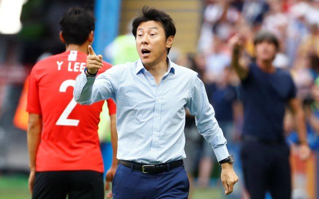 Pelatih Timnas Korsel Shin Tae-yong Foto REUTERS