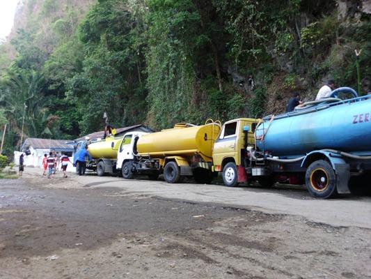 Air berlimpah dari mata air leang kassi menjadi sumber air PDAM yang didistribusikan ke wilayah Pangkajene dan Minasatene. (foto: mfaridwm/palontaraq)
