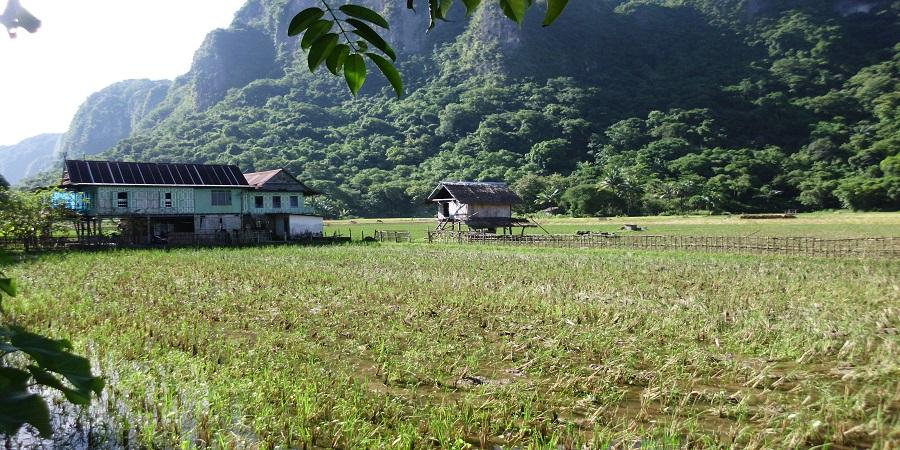 Pemandangan alam sekitar kawasan Leang Kassi. (foto: mfaridwm/palontaraq)