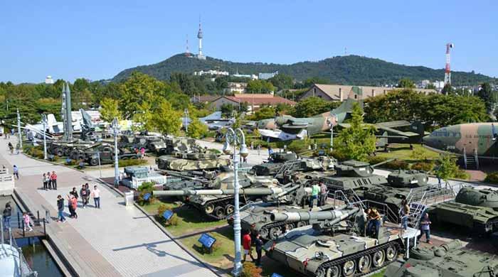Monumen Peringatan Perang Korea. (sumber foto: satujam)