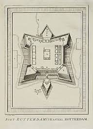 Denah Fort Rotterdam (sumber: wikipedia)