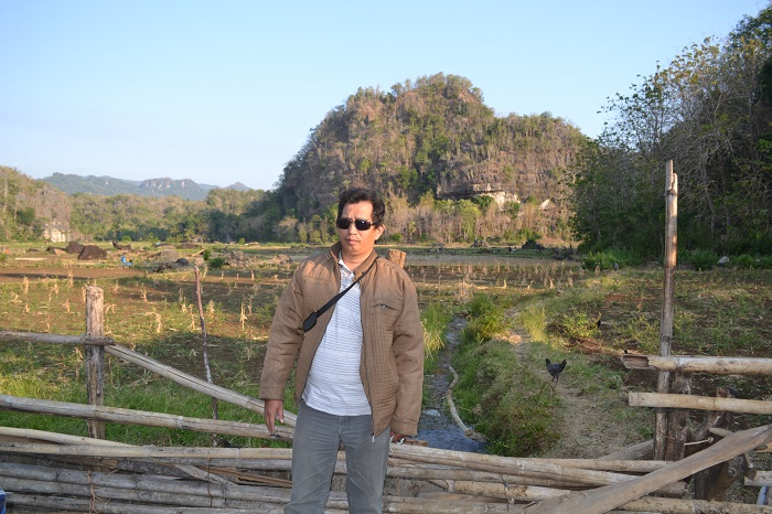 Traveling membuat diri lebih akrab dengan alam dan berjiwa muda. (foto: ist/palontaraq)