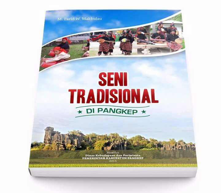 "Buku ""Seni Tradisional di Pangkep"". (foto: ist/palontaraq)"