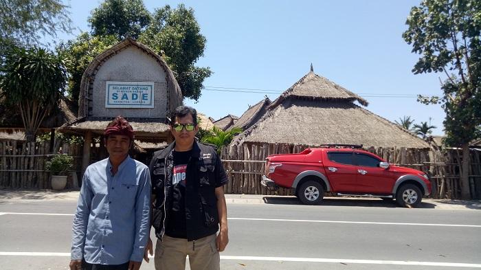 Easy going - Penulis di Lombok. (foto: ist/palontaraq)