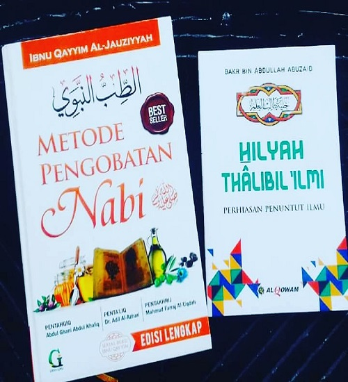 "Buku ""Metode Pengobatan Nabi"", terjemahan dari Kitab Thibbun Nabawi karya Ibnul Qayyim al-Jauziyyah. (foto: mfaridwm/palontaraq)"