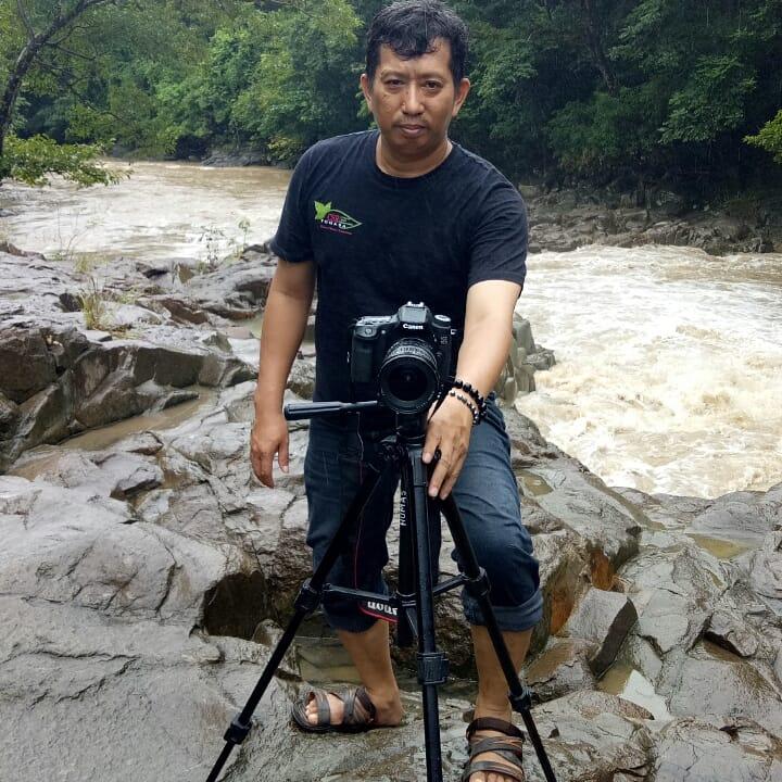Penulis di Lokasi Wisata Alam Celebes Canyon, Barru. (foto: ist/palontaraq)