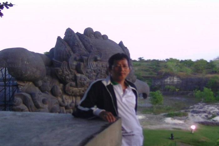 Di Kompleks Garuda Wisnu Kencana (GWK), Bali. (foto: ist/palontaraq)