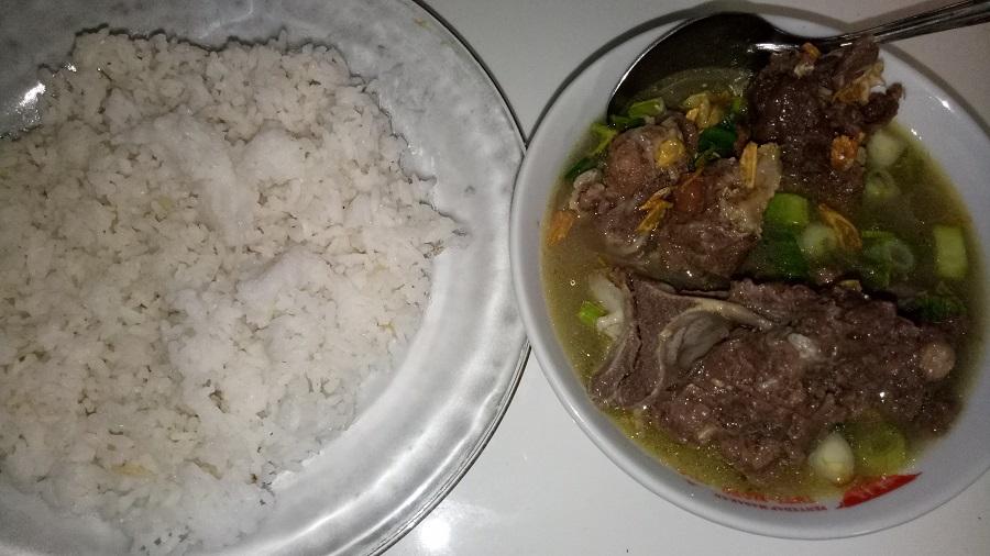 Kreatifitas kuliner khas olahan daging sapi. (foto: mfaridwm/palontaraq)