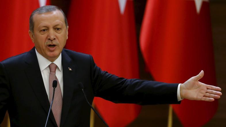 Presiden Turki, Recep Tayyib Erdogan (Foto: Alarabiyah.net)