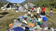 Masyarakat Lombok-NTB di Camp Pengungsian. (foto: detikNews)