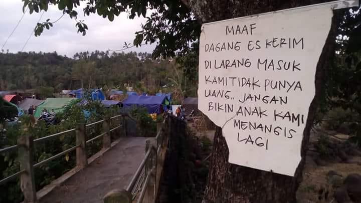Salah satu kepiluan masyarakat Lombok-NTB. (foto: ahmadyani)