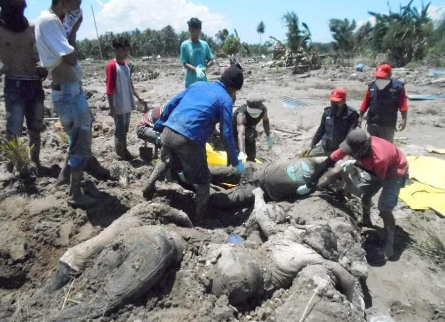 Gempa adalah peringatan sekaligus hukuman agar manusia meninggalkan maksiat. (foto: inforelawan)