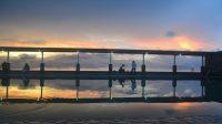 Panorama Senja di Seruni Resort. (foto: mfaridwm/palontaraq)