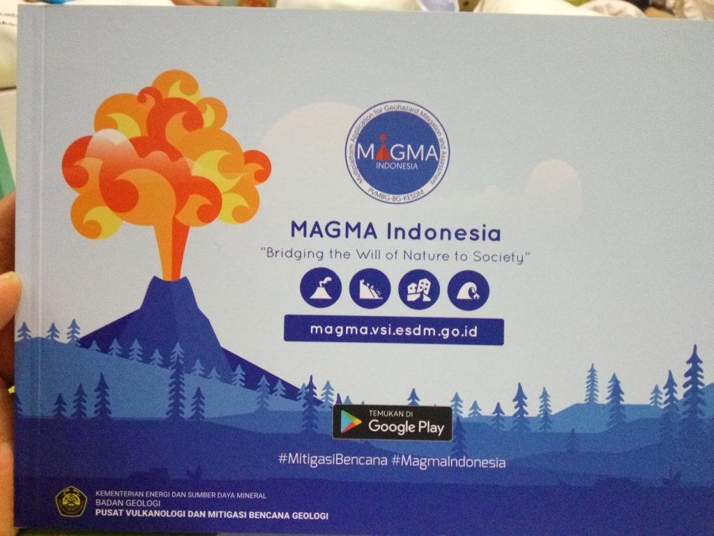 Aplikasi Magma. (foto: rizkin)