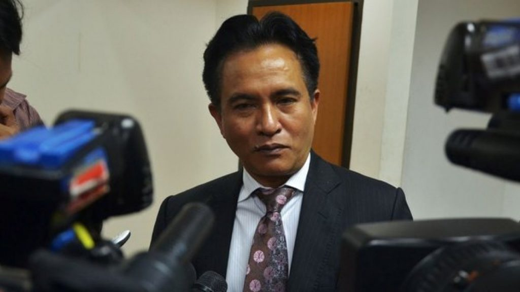 Prof Dr Yusril Ihza Mahendra. (foto: breakingnews.co.id)