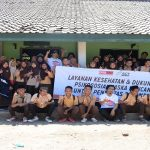 Salah satu kegiatan relawan MRI-ACT, memberikan layanan kesehatan dan dukungan psikososial. Kegiatan ARPS-MRI di SMP-MA Sambelia, Lombok Timur pasca Gempa Bumi yang meluluh-lantakkan Lombok, NTB.. (foto: ist/palontaraq)