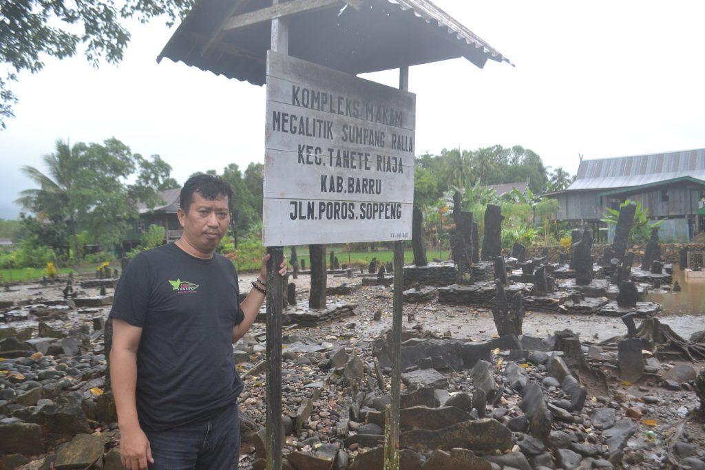 Penulis di Barru (foto: ist/palontaraq)