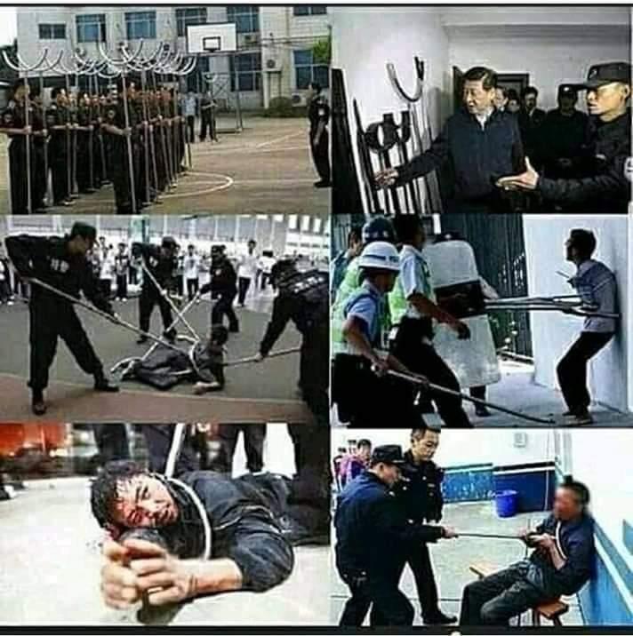 Tekanan, Paksaan, dan Penyiksaan Pemerintah Komunis Cina terhadap Muslim Uyghur. (ist/palontaraq)