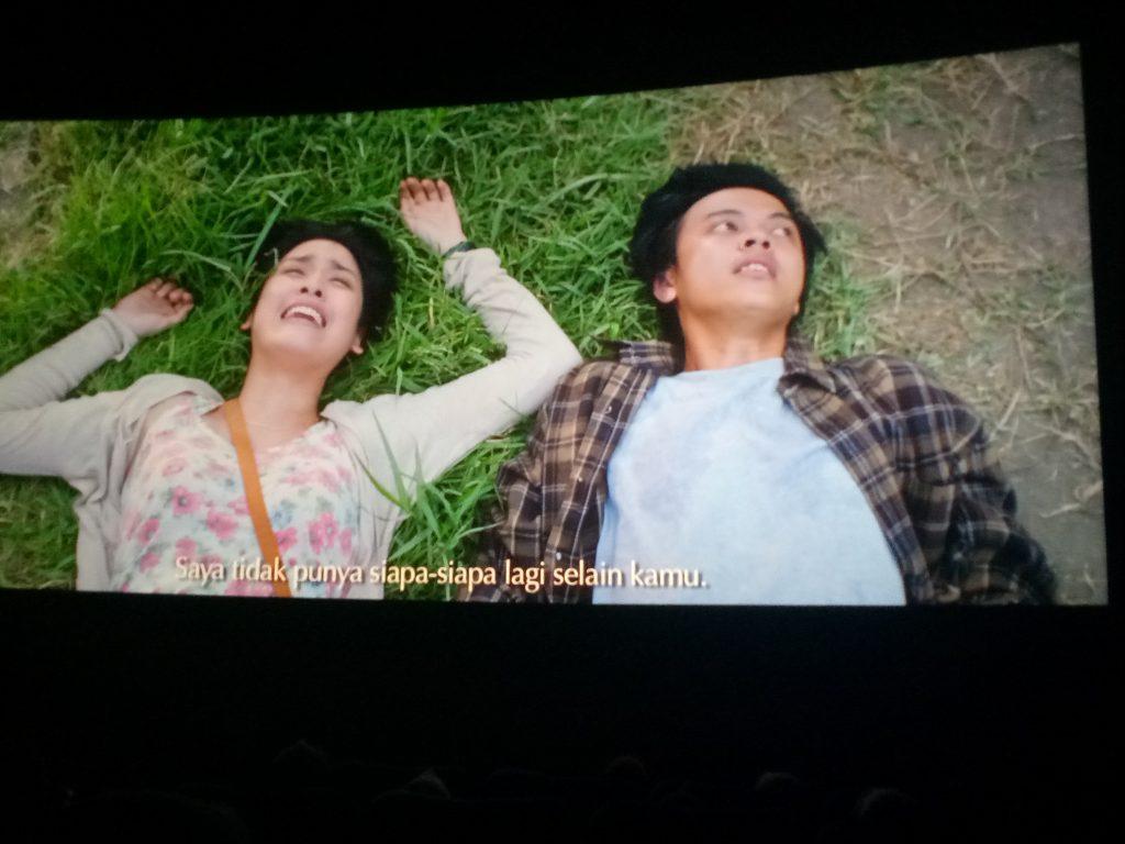 "Yusuf-Zulaikha dalam Film ""Silariang-Cinta yang (tak) Direstui. (foto: mfaridwm/palontaraq)"
