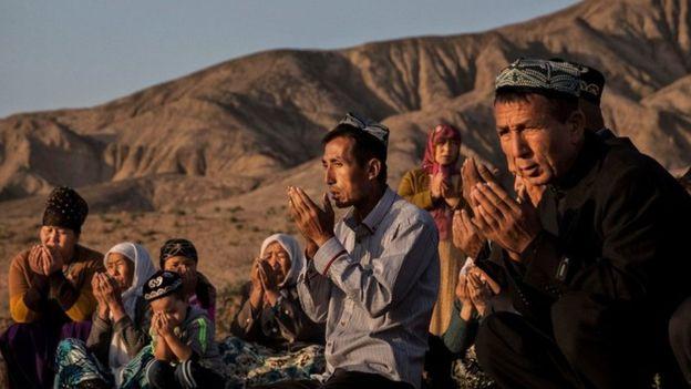 Moslem Uyghur (foto: bbc)