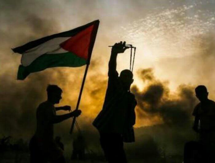 Palestina sampai saat ini masih berjuang untuk meraih kemerdekaannya. (foto: neswline)