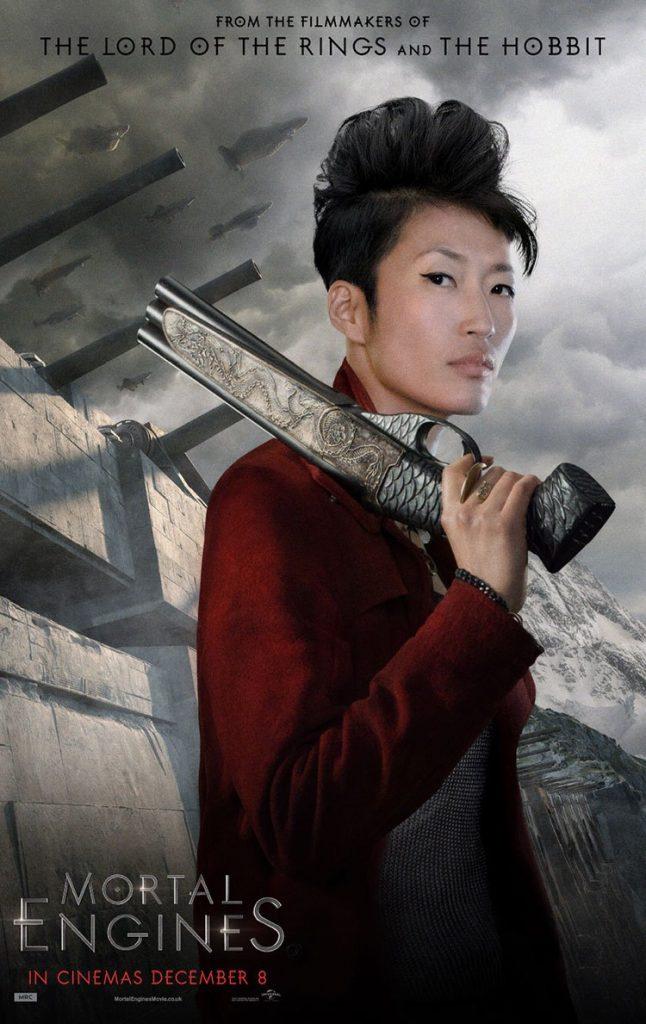 Fang dalam Film Mortal Engine
