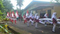 Suasana Porseni dalam lingkungan kampus Ponpes Modern Putri IMMIM Pangkep. (foto: ist/palontaraq)