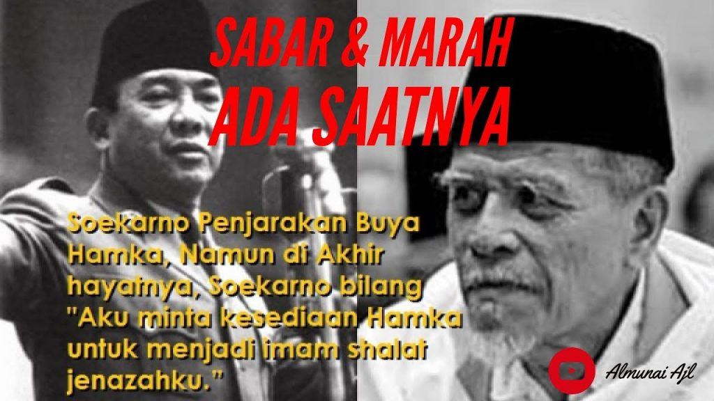 Buya Hamka dan Soekarno