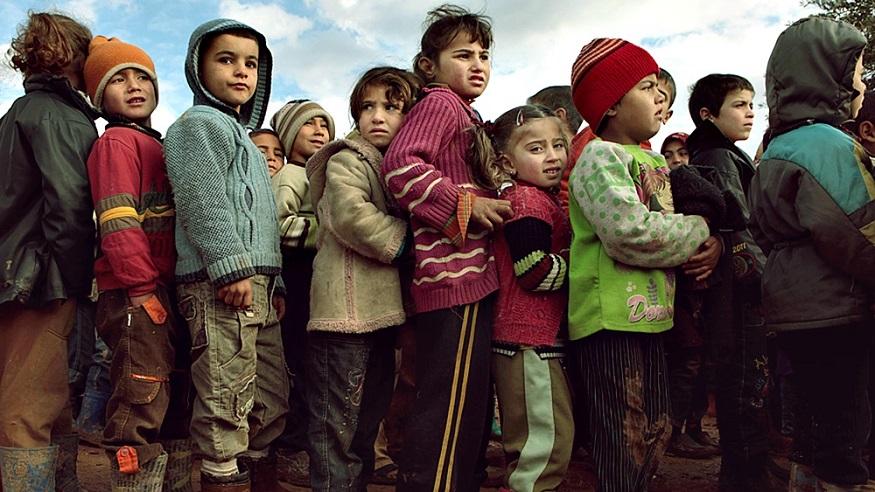 Anak-anak Pengungsi Suriah