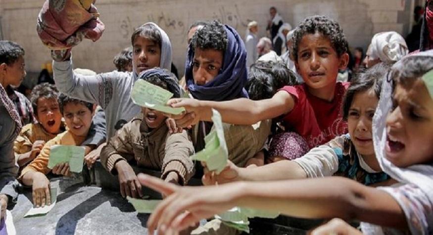 Korban mati kelaparan akibat perang di Yaman capai angka 80.000. (foto: ist)
