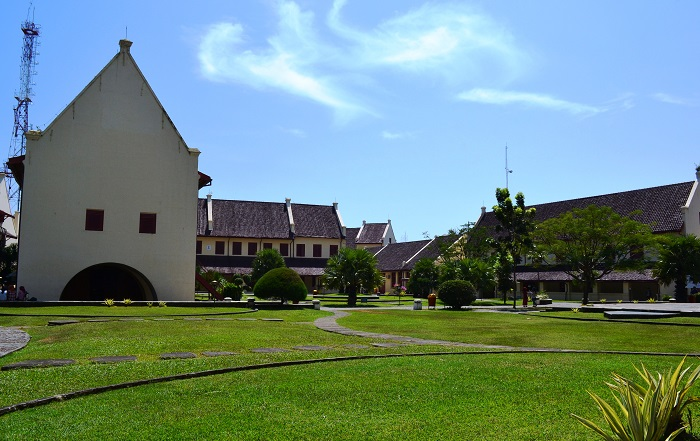 Park in area of Fort Rotterdam