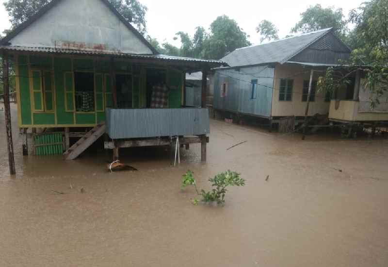 Banjir di Barru (foto: kabarnews)